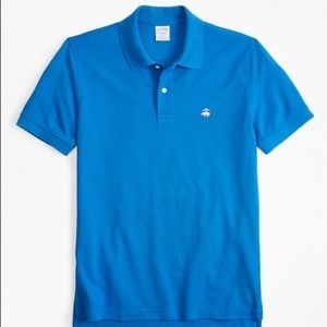 Brooks Brothers Slim Fit Cotton Performance Shirt